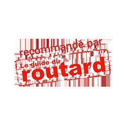 Infos pratiques - Logo label recommandé par le Guide du Routard