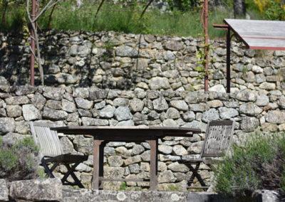 La Haute Maurelle⎥Gîte La Clède - La terrasse extérieure