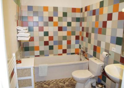 La Haute Maurelle⎥Chambre Lavande - La salle d'eau privative