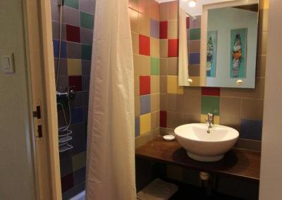 La Haute Maurelle⎥Gîte Lilas - La salle d'eau