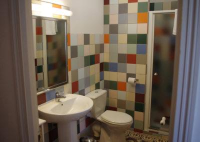 La Haute Maurelle⎥Chambre Romarin - La salle d'eau privative